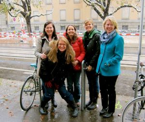 Me, Susan Jane Gilman, Joanna Penn, Libby O'Loghlin and Emma Darwin