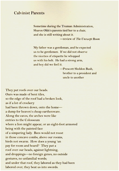 sharon olds poem