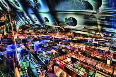 Frankfurter Buchmesse 2014 - Fotoart by Michael von Hassel